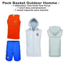 Pack Basket Outdoor Homme