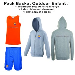 Pack Basket Outodoor enfant